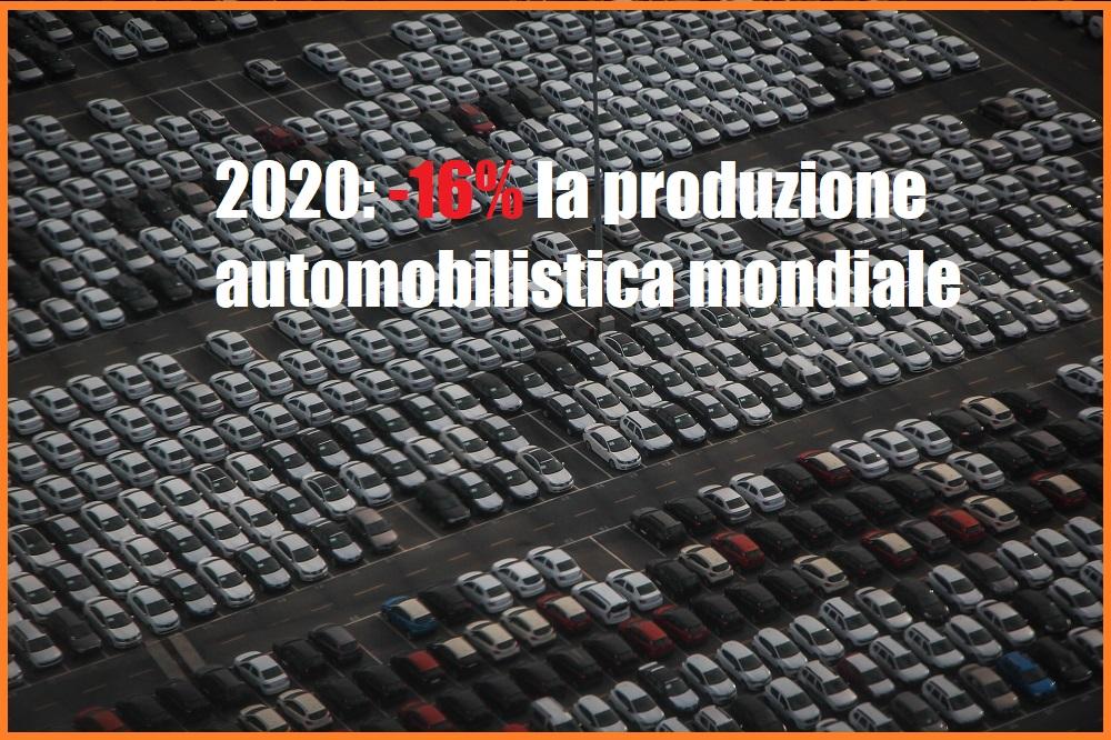 Produzione automobilistica mondiale: diffusi i dati 2020 dell'OICA