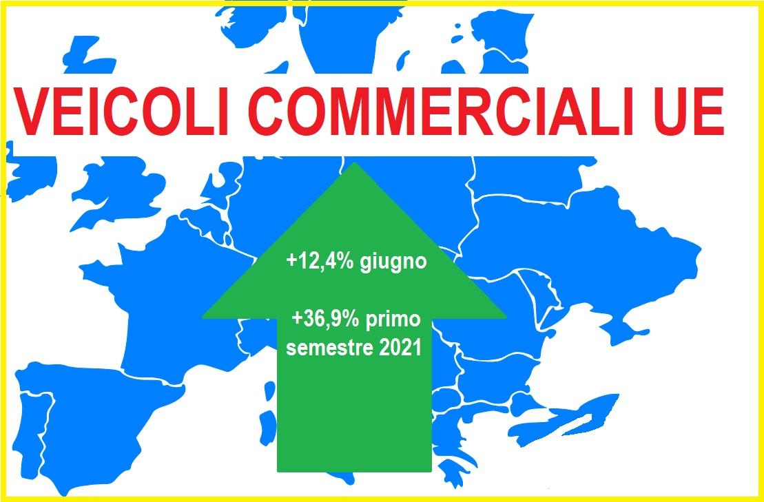 Veicoli commerciali: prosegue anche a giugno, in Ue, il trend positivo della domanda